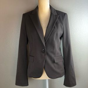 Express Fitted Lined Suit Jacket Small
